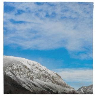 White Mountains New Hampshire Napkin
