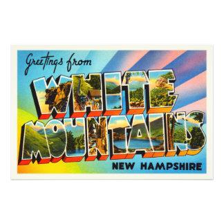 White Mountains New Hampshire NH Travel Souvenir Photo Print