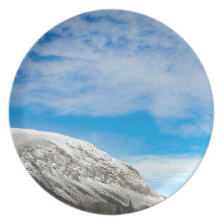 White Mountains New Hampshire Plate