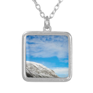 White Mountains New Hampshire Silver Plated Necklace