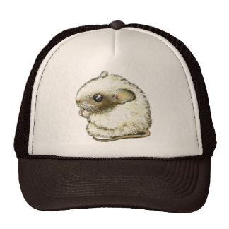 white mouse hat