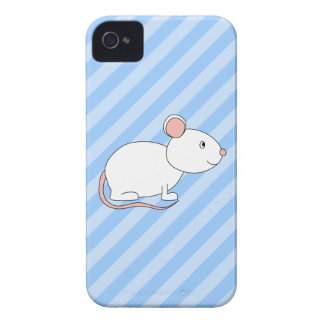 White Mouse. iPhone 4 Cases