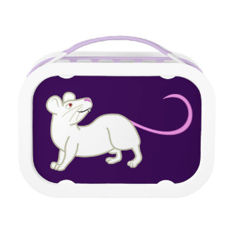White Mouse Lunch Box