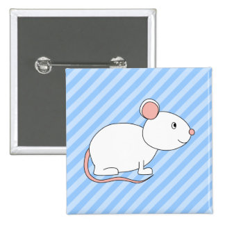 White Mouse Pins