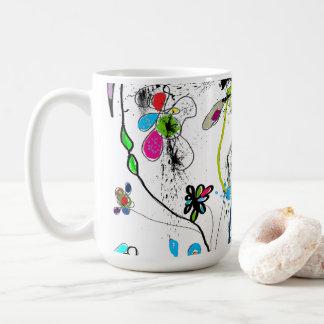 White Mug, 444 ml, Alice' S Garden Coffee Mug