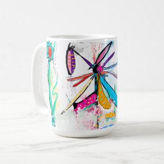 White Mug, 444 ml, Alice' S Garden II Coffee Mug