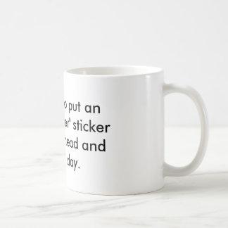 White Mug Coffee YACF Inspirational