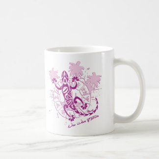 White Mug horoscope lizard F