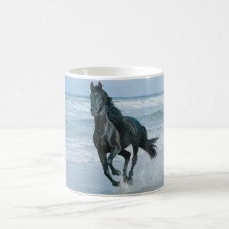White Mug horse