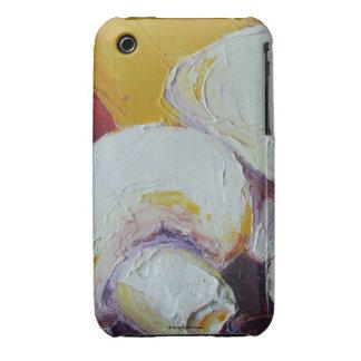 White Mushrooms iPhone 3 Case