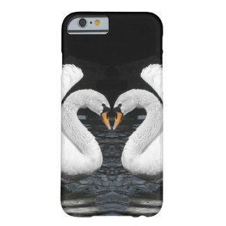 White Mute Swans Mirror Image Barely There iPhone 6 Case