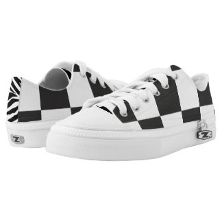 white-n-black low tops