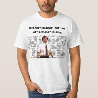 white-n-nerdy, Witness the whiteness T-Shirt
