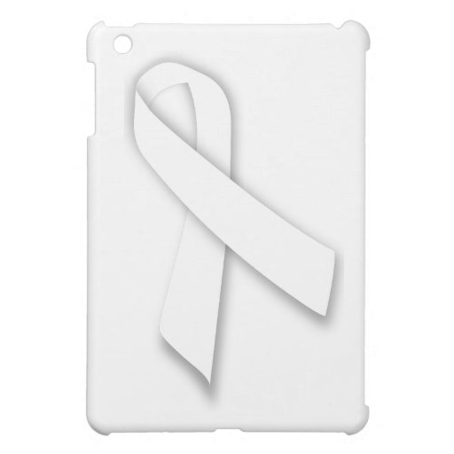 White National Day of Remembrance Ribbon iPad Mini Covers