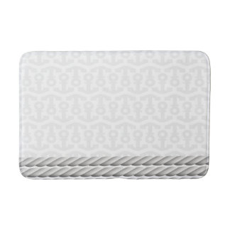 Anchor bath mats rugs for Rope bath mat