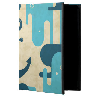 White Nautical Anchor Design with Rope Powis iPad Air 2 Case