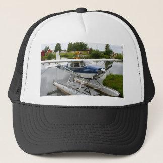 White & navy float plane, Alaska Trucker Hat
