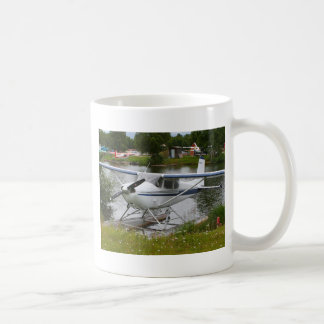 White, navy & grey float plane, Alaska Coffee Mug