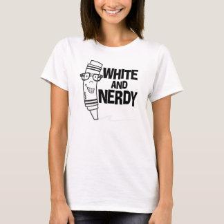 White & Nerdy T-Shirt