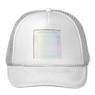 White Noise Pastel Trucker Hats