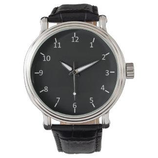 White on Black Watch