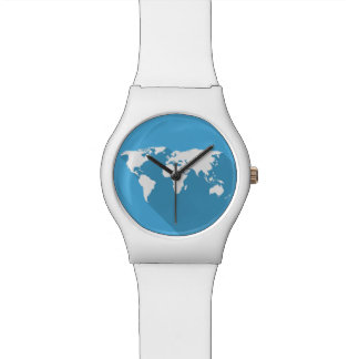 white on blue world watch