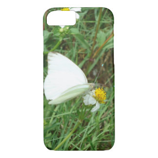 White on Green iPhone 7 Case
