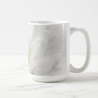 White on White Floral Mug 1