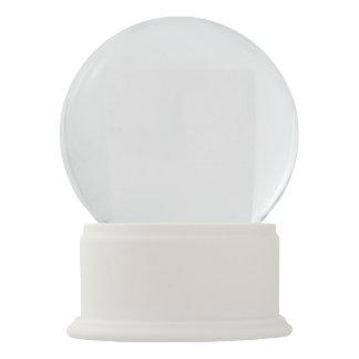 White Onyx Snow Globe Snow Globes