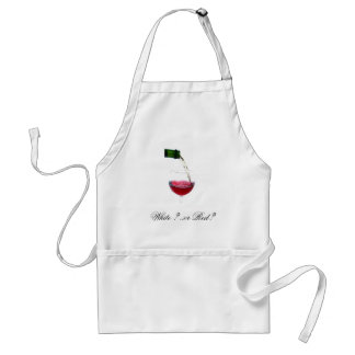 , White ? ..or Red? Standard Apron