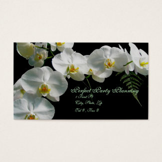 White Orchid Business Card