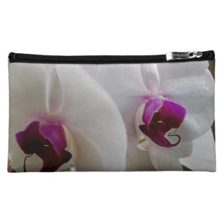 WHITE ORCHID cosmetic bag