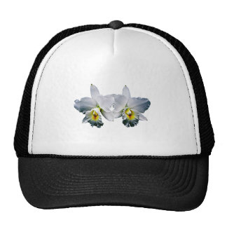 White Orchid Hawaiian Wedding Song Hats