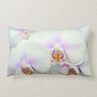 White Orchid Pillow Cushions