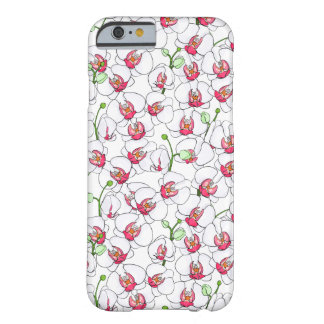 White orchids. barely there iPhone 6 case