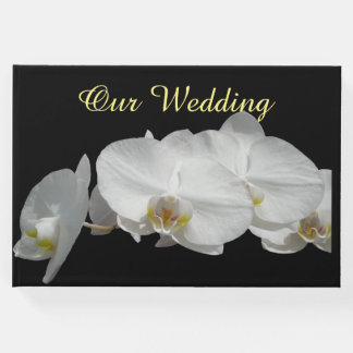 White Orchids Guest Book