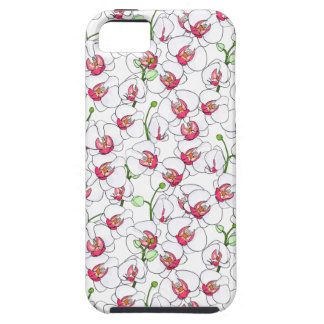 White orchids. iPhone 5 cases
