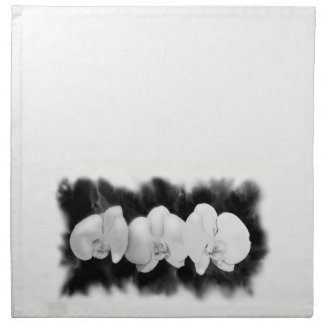 White Orchids Napkin