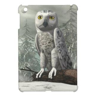 White owl - 3D render iPad Mini Case