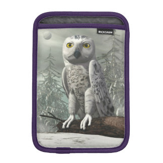 White owl - 3D render iPad Mini Sleeve