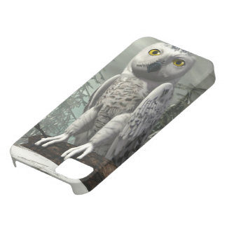 White owl - 3D render iPhone 5 Covers