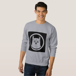White Owl sweatshirt men grey