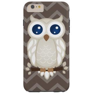 White Owl Tough iPhone 6 Plus Case