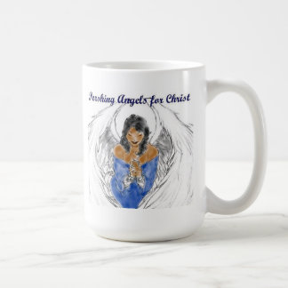 White P/A's for Christ Mug