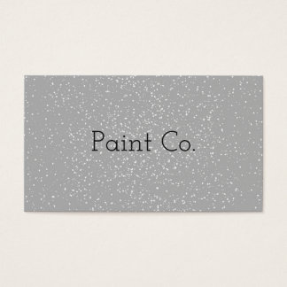 White Paint Business Cards