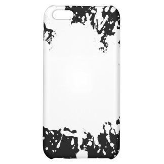 White Paint Splatter iPhone4 Case Cover iphone 4 iPhone 5C Cover