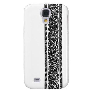 White Paisley Bandana iPhone 3 Case