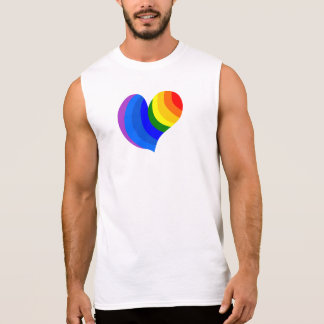 "White Party ""Rainbow Heart"" Tee"