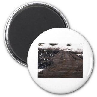 White Pass 12 6 Cm Round Magnet