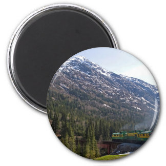 White Pass 38 Refrigerator Magnet